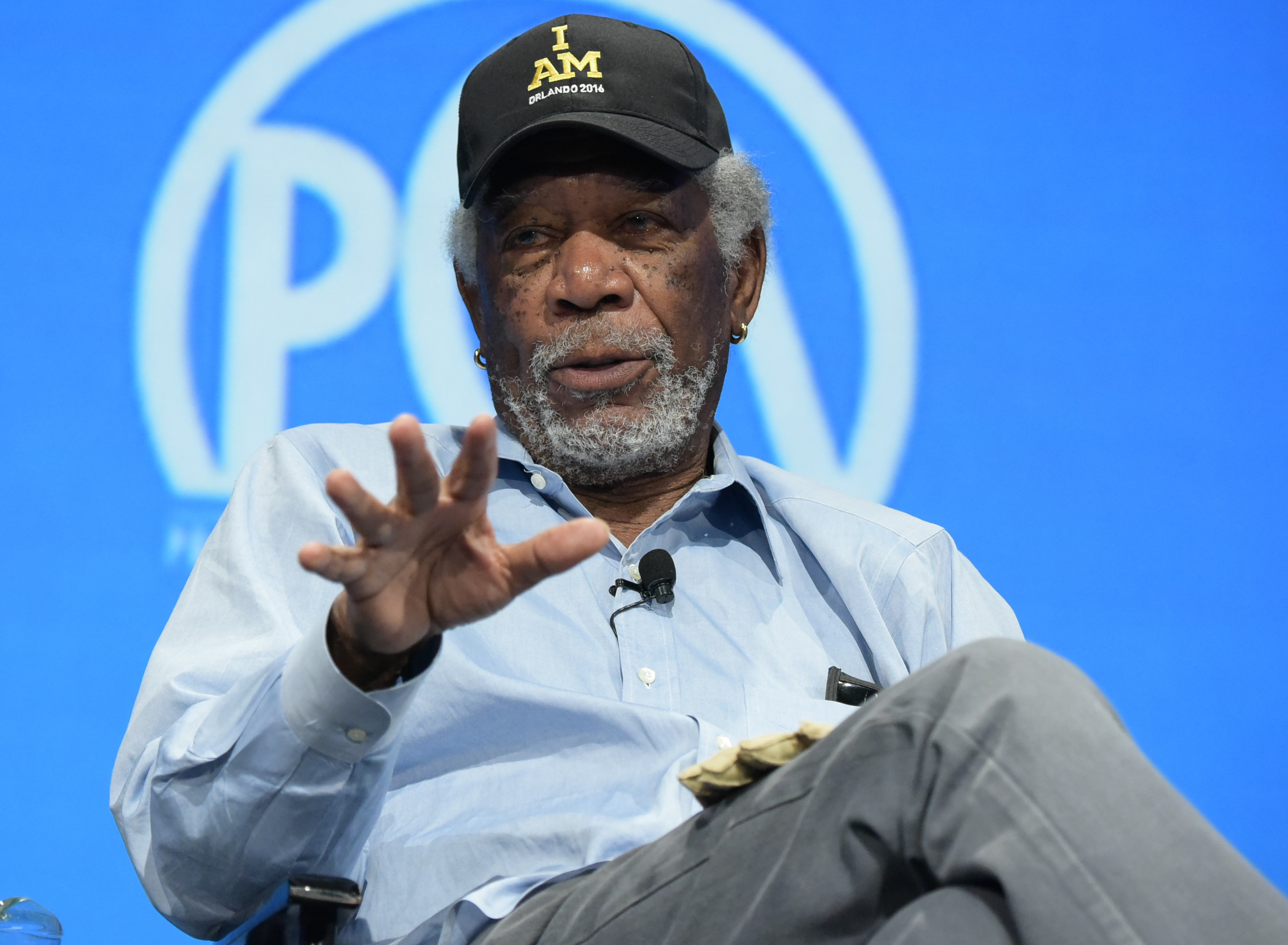Morgan Freeman feted at PGA Produced by Event (credit: Mark Gordon)