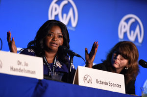 IMAGE DISTRIBUTED FOR PRODUCERS GUILD OF AMERICA - Octavia Spencer speaks at the 8th Annual Produced By Conference presented by Producers Guild of America at Sony Pictures Studios on Saturday, June 4, 2016 in Culver City, Calif. (Photo by Jordan Strauss/Invision for Producers Guild of America/AP Images)