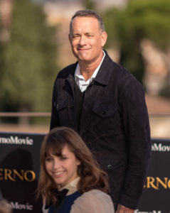Florence, Italy –October 7, 2016 - Tom Hanks at the Columbia Pictures, Inferno photo call at the Forte di Belvedere in Florence Italy.