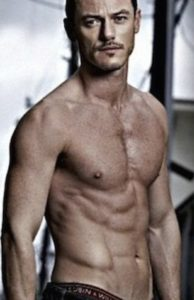 Let's not forget Luke Evans is fairly hot himself.
