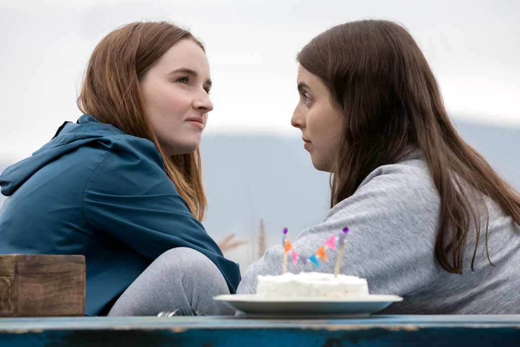 BS_00129_R Kaitlyn Dever stars as Amy and Beanie Feldstein as Molly in Olivia Wilde's directorial debut, BOOKSMART, an Annapurna Pictures release. Credit: Francois Duhamel / Annapurna Pictures