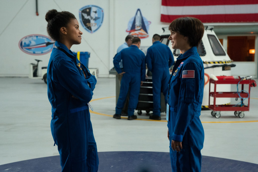 Zazie Beetz and Natalie Portman in the film LUCY IN THE SKY. Photo by Hilary B. Gayle. © 2019 Twentieth Century Fox Film Corporation All Rights Reserved
