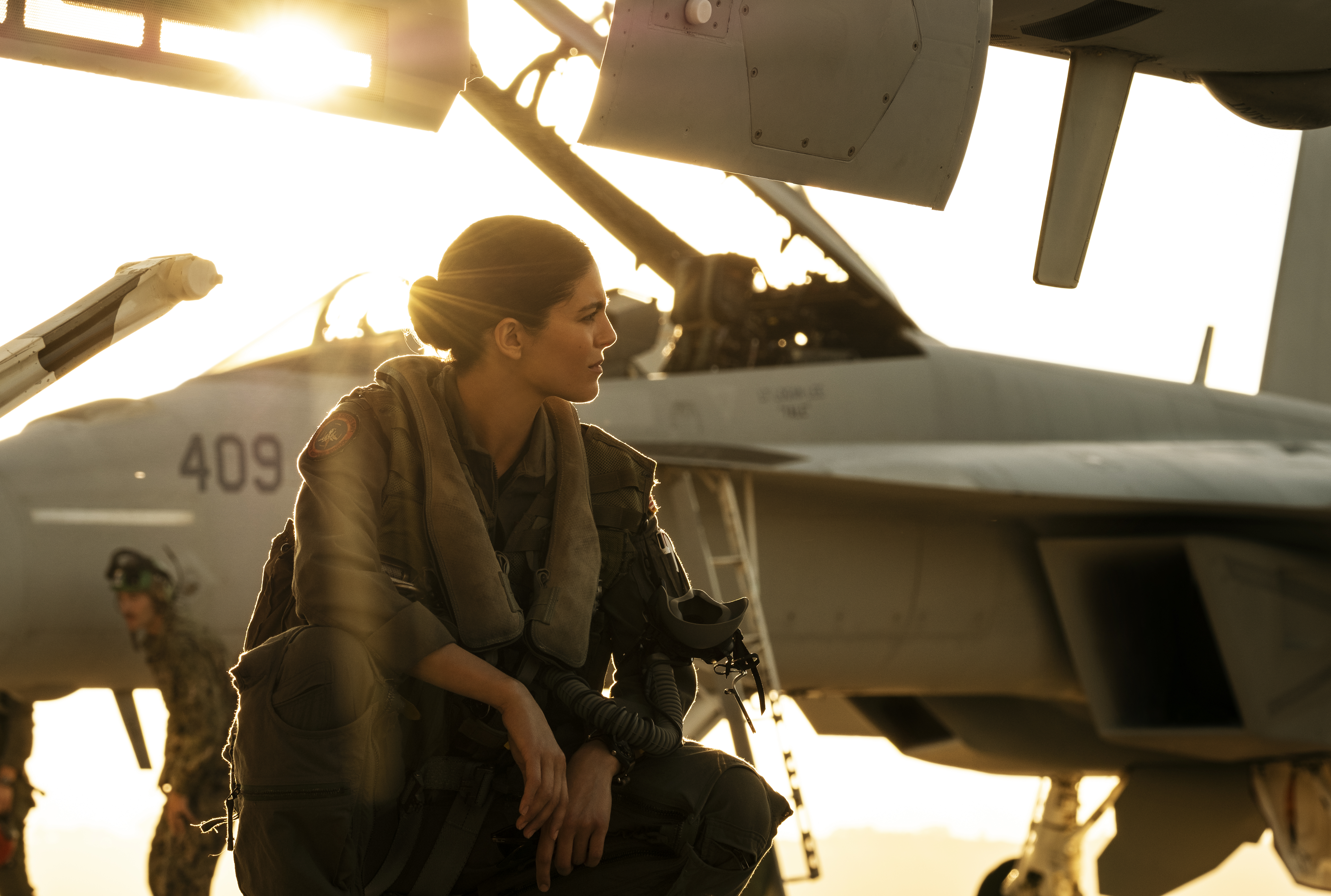 """Monica Barbaro plays """"Phoenix"""" in Top Gun: Maverick from Paramount Pictures, Skydance and Jerry Bruckheimer Films."""